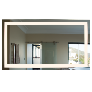 Dimmable Square LED Mirror (Large)