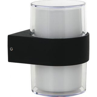 Outdoor LED Wall Light - Round Up - Down 10W IP54